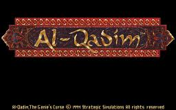 Al-Qadim: The Genies Curse