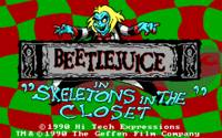 Beetlejuice in: Skeletons in the Closet