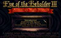 Eye of the Beholder III – Assault on Myth Drannor