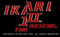 Ikari Warriors III: The Rescue