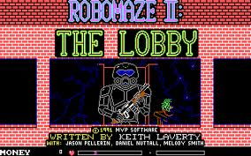 RoboMaze 2: The Lobby